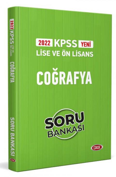 KPSS Lise Ve Ön Lisans Coğrafya Soru Bankası 2022 - Data