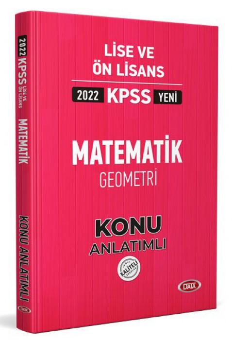 KPSS Lise Ve Ön Lisans Matematik Geometri Konu Kitabı 2022 - Data