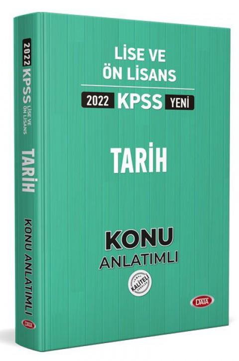 KPSS Lise Ve Önlisans Tarih Konu Kitabı 2022 - Data