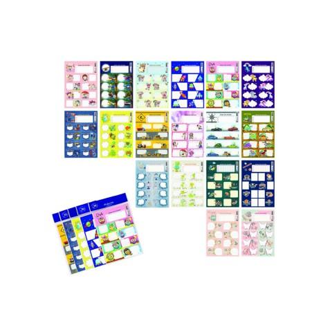 Keskin Color Ders Prog.3lü Etiket