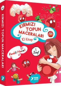 Kırmızı Topun Maceraları 10 Kitap Takım 1. Sınıf - Müzehher Özgün