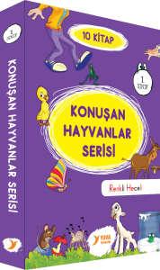 Konuşan Hayvanlar Serisi 10 Kitap Takım 1. Sınıf - Müzehher Özgün