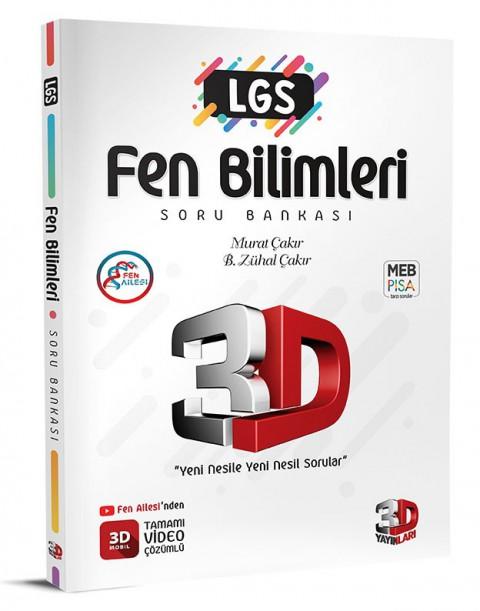 LGS Fen Bilimleri Soru Bankası - 3D