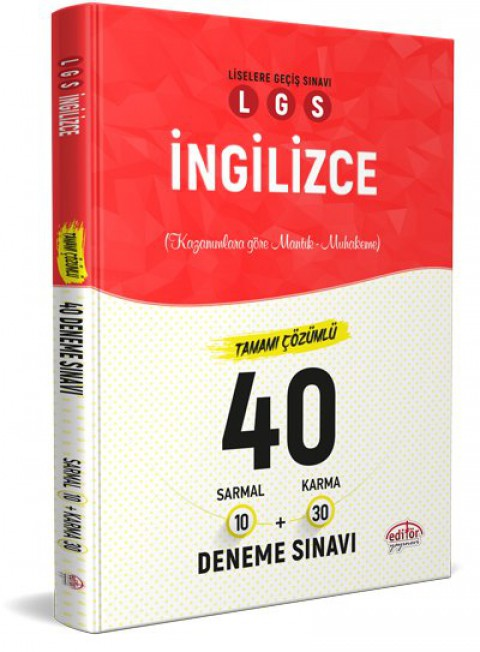 LGS İngilizce 40 Branş Denemesi Nasıl Çözülür  - Editör