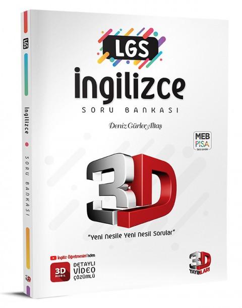 LGS İngilizce Soru Bankası - 3D