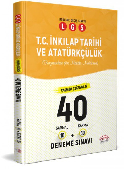 LGS İnkılap Tarihi 40 Branş Denemesi Nasıl Çözülür  - Editör