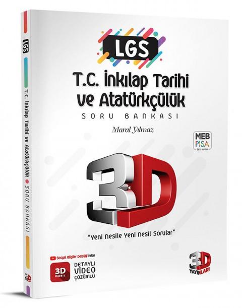 LGS İnkılap Tarihi Soru Bankası - 3D