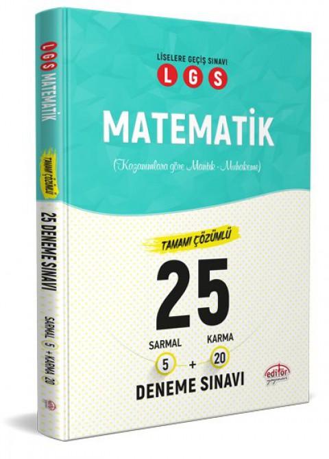 LGS Matematik 25 Branş Denemesi Nasıl Çözülür  - Editör