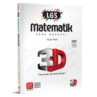 LGS Matematik Soru Bankası - 3D