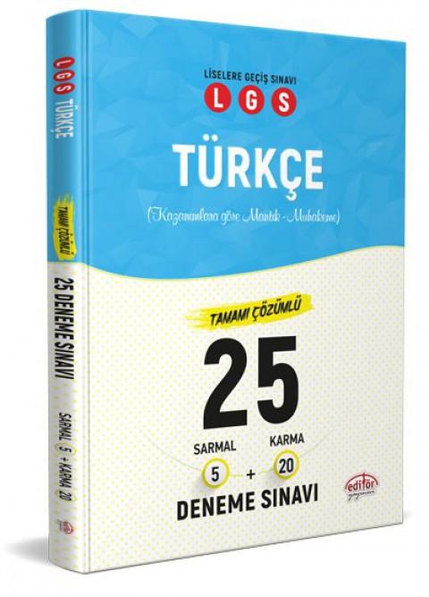 LGS Türkçe 25 Branş Denemesi Nasıl Çözülür  - Editör