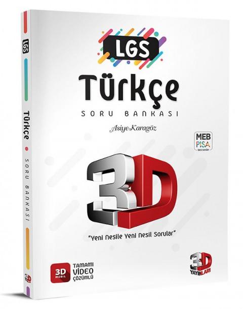 LGS Türkçe Soru Bankası - 3D