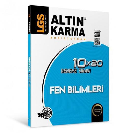 Lgs Fen Bilimleri 10X20 Branş Deneme - Altın Karma