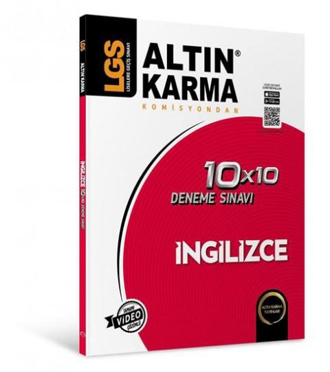Lgs İngilizce 10X10 Branş Deneme - Altın Karma