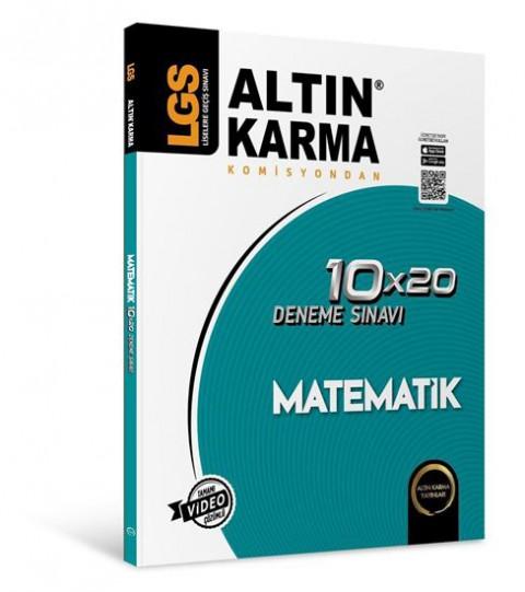 Lgs Matematik 10X20 Branş Deneme - Altın Karma