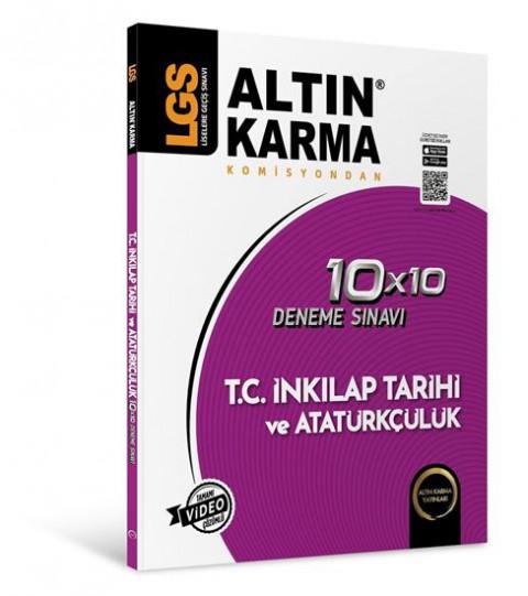 Lgs T.C. İnkılap Tarihi Ve Atatürkçülük 10X10 Branş Deneme - Altın Karma
