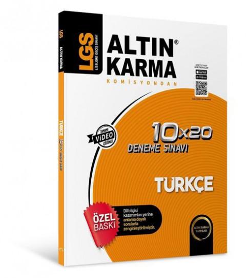 Lgs Türkçe 10X20 Branş Deneme - Altın Karma