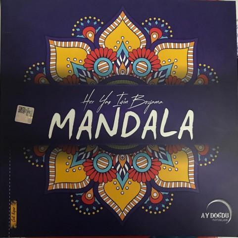 Mandala Her Yaş İçin Boyama Ay Doğdu Yayınları - Kolektif