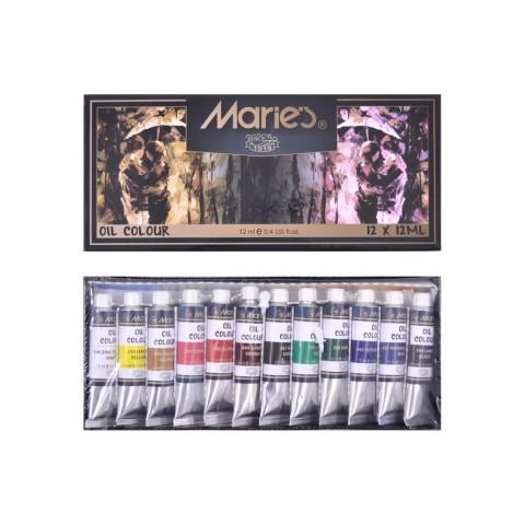 Maries E1381 12 Renk Yağlı Boya