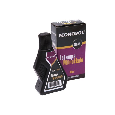 Monopol 30 Cc Siyah Stampa Mürekkebi