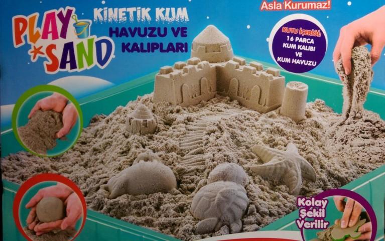Play Sand Kum Havuzu Ve Kalıpları Kutu