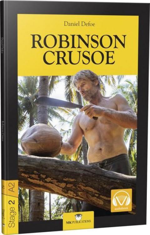 Robinson Crusoe Stage 2 İngilizce Hikaye - Daniel Defoe