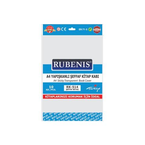 Rubenis A4 Yapışkanlı Buzlu Şeffaf Kitap Kabı