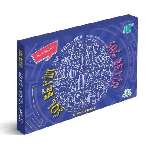 Sağ Beyin Sol Beyin Egzersizleri Seti 3 Kitap Set - M. Müslime Arslaner
