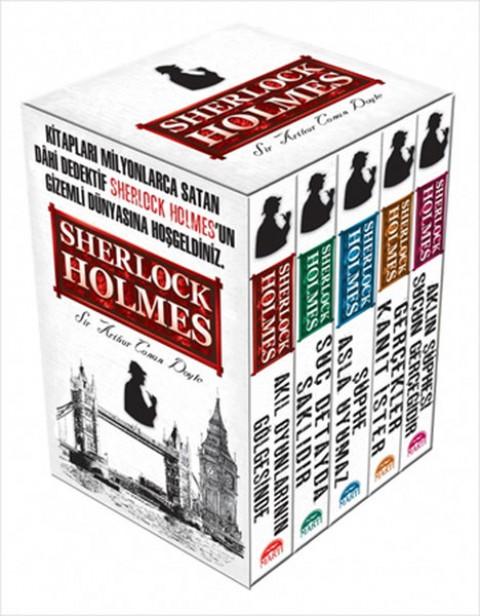 Sherlock Holmes Seti 5 Kitap Takım - Sir Arthur Conan Doyle