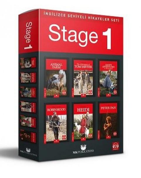 Stage 1 İngilizce Hikaye Seti MK Publications - Kolektif