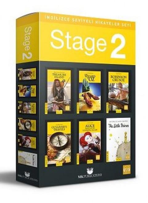 Stage 2 İngilizce Hikayeler MK Publications - Kolektif