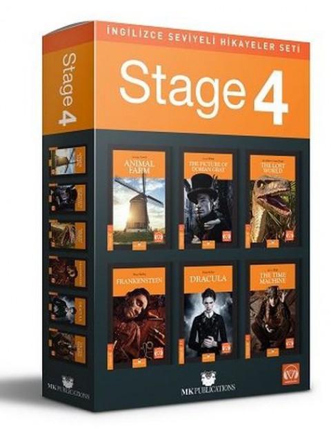 Stage 4 İngilizce Hikayeler MK Publications - Kolektif