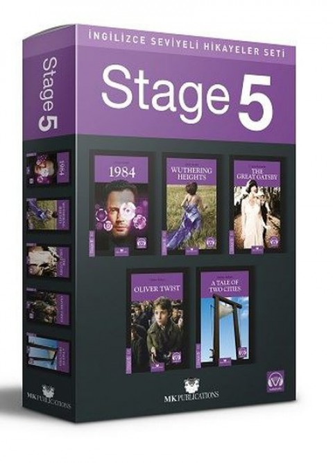 Stage 5 İngilizce Hikayeler MK Publications - Kolektif