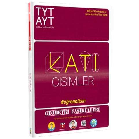 TYT-AYT Geometri Fasikülleri-Katı Cisimler - Tonguç