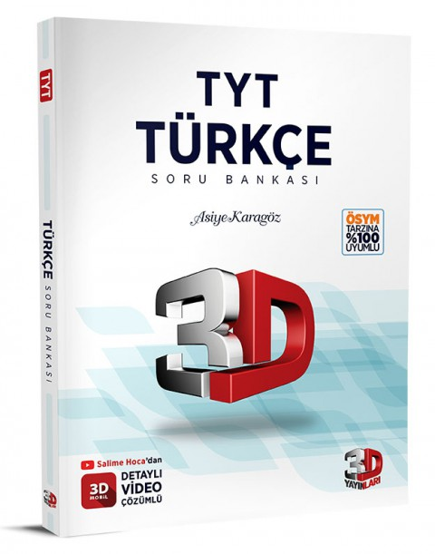 TYT Türkçe Soru Bankası - 3D