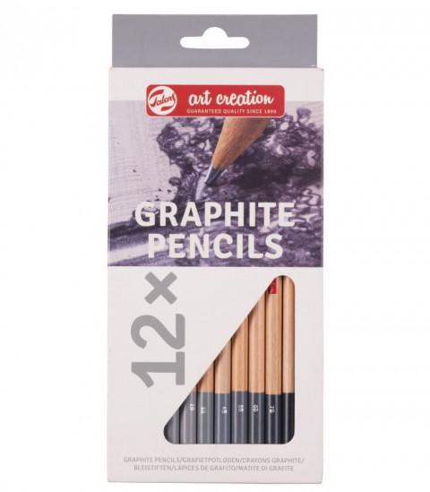 Talens12x Graphite Pencils