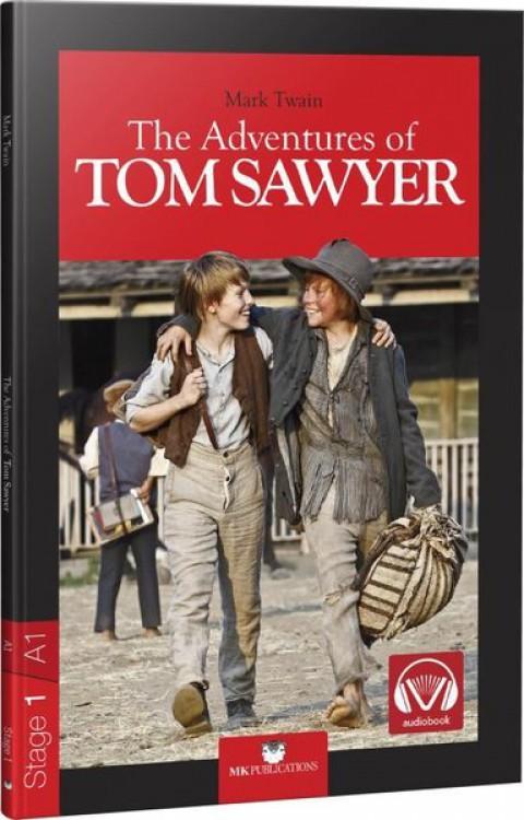 The Adventures of Tom Sawyer Stage 1 İngilizce Hikaye - Mark Twain