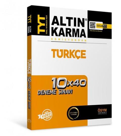 Tyt Komisyondan Türkçe Deneme - Altın Karma
