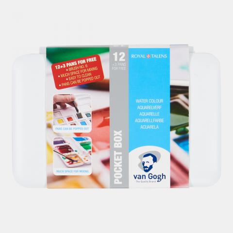 Van Gogh Suluboya 12+3 Set (plastik Kutu)