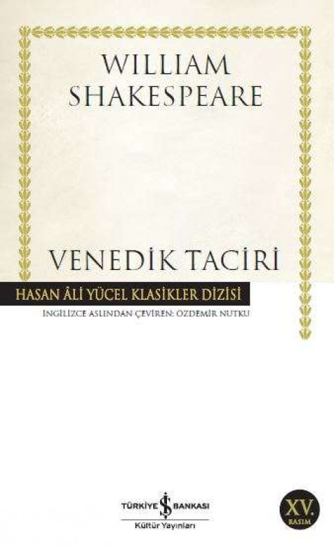 Venedik Taciri - William Shakespeare
