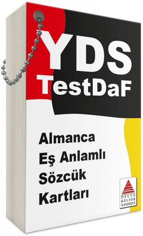 YDS Almanca Eş Anlamlı Sözcük Kartları