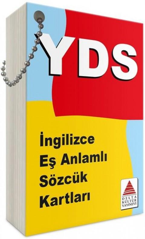 YDS İngilizce Eş Anlamlı Sözcük Kartları